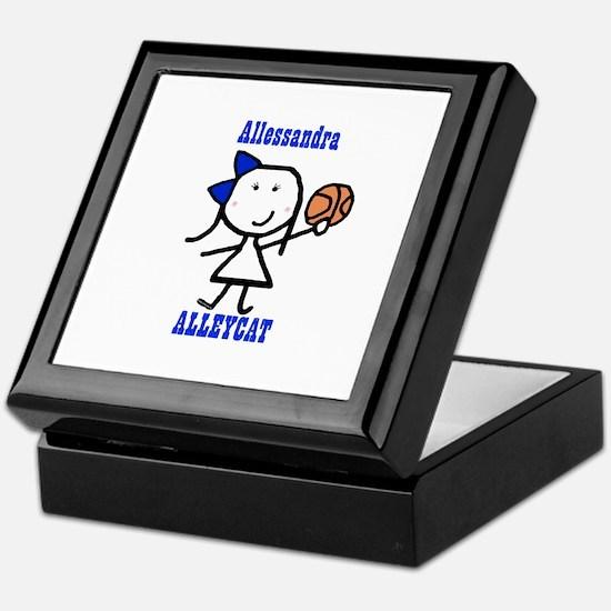 Basketball: Alleycat Keepsake Box