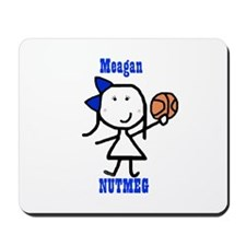 Basketball: Meagan Mousepad