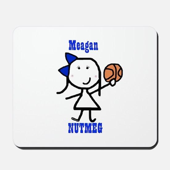 Basketball: Meagan Mousepad
