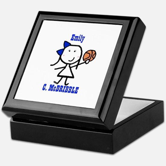 Basketball: Emily Keepsake Box