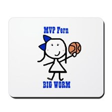 Basketball: Fern Mousepad