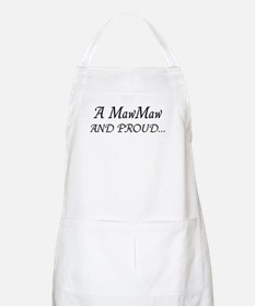 Maw Maw And Proud BBQ Apron