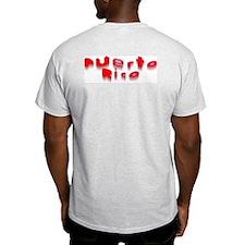 Mi Patria Ash Grey T-Shirt