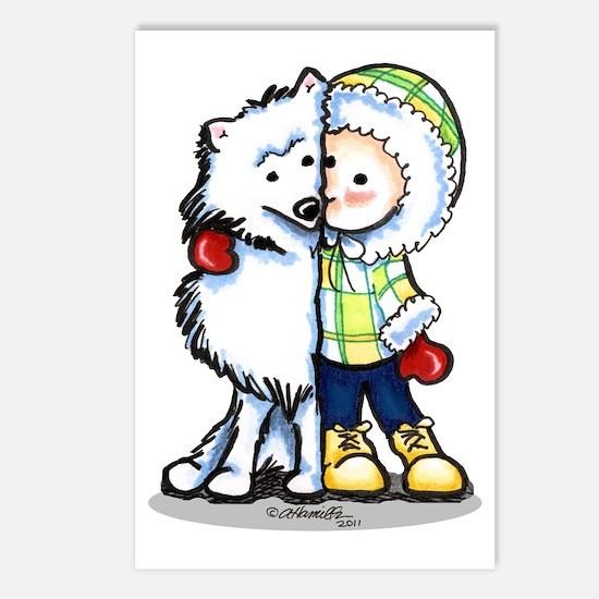 Eskimo Kisses Postcards (Package of 8)