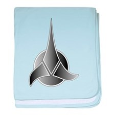 Klingon Symbol baby blanket