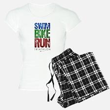 Swim, Bike, Run - Triathlon Pajamas