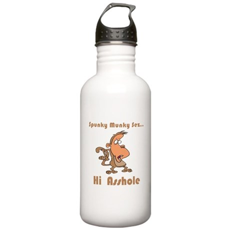Hi Asshole Stainless Water Bottle 1.0L