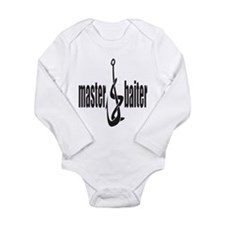 Master Baiter Long Sleeve Infant Bodysuit