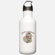 Grapes and Greyhounds Water Bottle