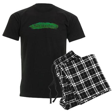 Bah. Humbug. Men's Dark Pajamas