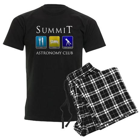 Summit Astronomy Club Men's Dark Pajamas
