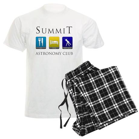 Summit Astronomy Club Men's Light Pajamas