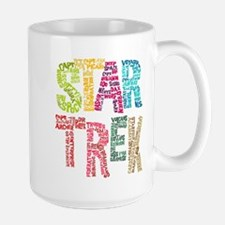 Star Trek:Names Large Mug