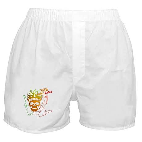 35th Birthday Boxer Shorts