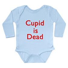 Cupid is Dead Long Sleeve Infant Bodysuit