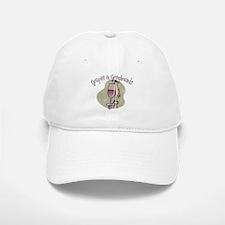 Grapes and Greyhounds Baseball Baseball Cap
