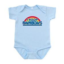 I Poop Rainbows Toddler T-Shirt Infant Bodysuit