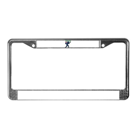 Cricket Australia License Plate Frame