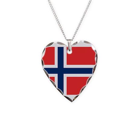 Norwegian Necklace Heart Charm