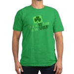 This is no time to be SOBER Men's Fitted T-Shirt (