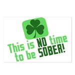 This is no time to be SOBER Postcards (Package of