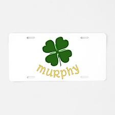 Irish Murphy Aluminum License Plate