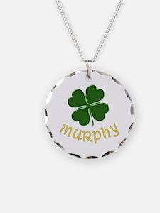 Irish Murphy Necklace Circle Charm
