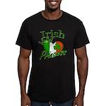 Irish Princess Men's Fitted T-Shirt (dark)