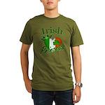 Irish Princess Organic Men's T-Shirt (dark)