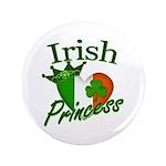 "Irish Princess 3.5"" Button (100 pack)"