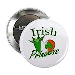 "Irish Princess 2.25"" Button (10 pack)"