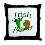 Irish Princess Throw Pillow