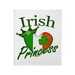Irish Princess Throw Blanket