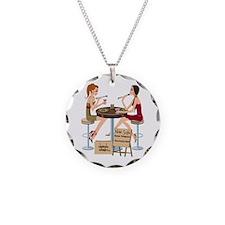 Seminole Sushi Girls Necklace Circle Charm