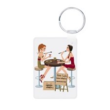 Seminole Sushi Girls Keychains