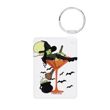 Halloween Martini Girl Keychains