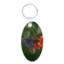Black and Red Butterfly Keychains