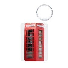 London Phonebooth Keychains