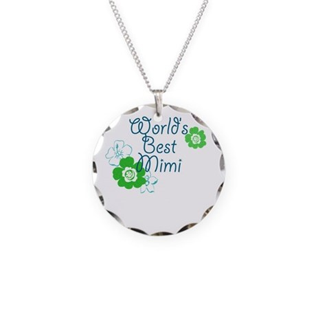 World's Best Mimi Necklace Circle Charm