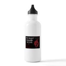 My heart belongs to you Water Bottle