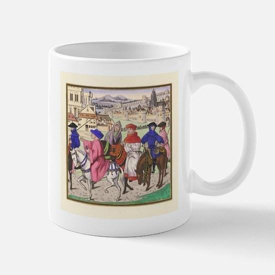 Canterbury Pilgrims Mug