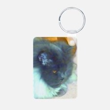 Blue Persian Cat Keychains