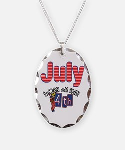 Born on the 4th of July Necklace