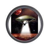Ufo Wall Clocks