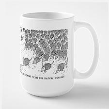 Armadillos leaving Texas Mug