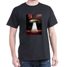 UFO over city T-Shirt