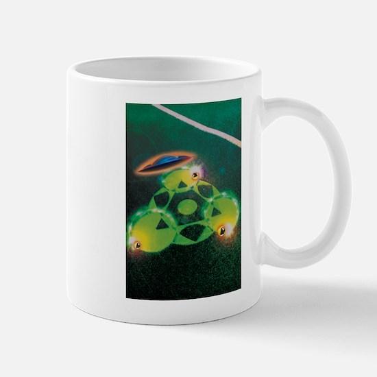 UFOs and Crop Circles Mug