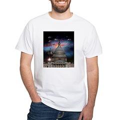 UFOs Over Wash. DC Shirt