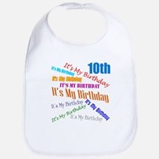 10th Birthday Bib