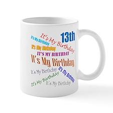 13th Birthday Mug